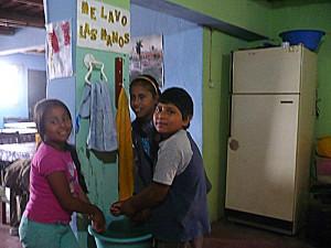 Dayana, Anghie et Luis Antonio