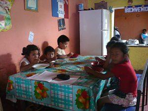 le centre nutritionnel d'El Porvenir