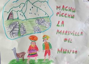 le Machu picchu par Percy