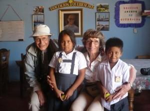 à Alto Trujillo avec Dayana et Saul