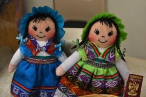 des poupées péruviennes