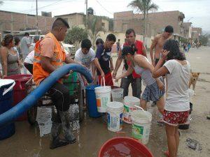 distribution d'eau par camion citerne